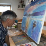 Slikarska delavnica ЕЅeljko Vertelj